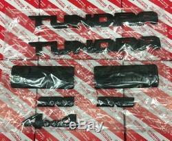 2014-2020 Toyota Tundra Blackout Emblèmes Overlay Kit Véritable Oem Pt948-34181-02