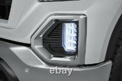 2019-2021 Gmc Sierra 1500 Lampe Led Fog Avant Kit Gm D'witho Groupe D'éclairage