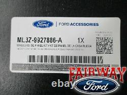 2021 F-150 Oem Genuine Ford Heavy Duty Rear Wheel Well House Liner Kit Nouveau