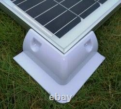 250 Watt Motorhome Camper Rv Solar Panel Kit Véritable Contrôleur De Charge Mppt 250w