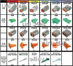 518 Pcs Deutsch Dt Véritable Connecteur Kit, 14-16awg Stamped Les Contacts Outils, États-unis