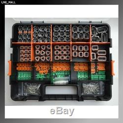 518 Pcs Deutsch Dt Véritable Kit Connecteur 14-16awg Solides Contacts & Outils, États-unis