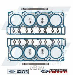 6.0l Powerstroke Diesel D'origine Ford Oem Paire De 18mm Du Joint De Culasse Kits Vt365