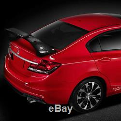 Aileron De Coffre Arrière En Fibre De Carbone Véritable Style Mugen Adapté Pour 12-15 Honda CIVIC 4dr