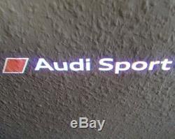 Audi Sport Led Originale Einstiegsleuchten Einstiegsbeleuchtung Tür Logo Leuchten