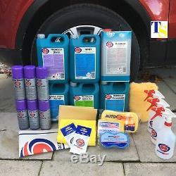 Autosmart De Valeting Kit Complet Car Clean Kit De Rrp £ 399 Gift (véritable)