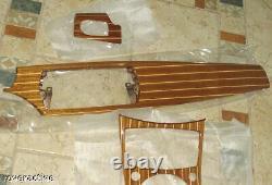 Bmw Brand E85 E86 Z4 2003-2008 Véritable Maritime Mahogany Interior Trim Kit Nouveau