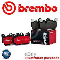 Brembo Véritable Originale Plaquettes De Frein Essieu Avant P85085