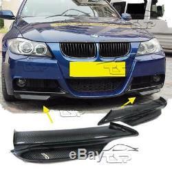 Carbone Rabats Pare-chocs Pour Bmw E90 E91 05-08 Série 3 M-technik Body Kit Spoiler