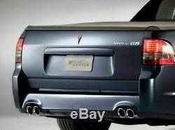 Combo Badge Véritable Kit Pour Pontiac G8 Ve Ssv Special Edition F & R Red Emblèmes