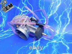 Complet 38mm Carburetor Kit Keihin Pwk Carb Intake Quad Vent Genuine Oem Stock