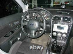 Convient 2002-2004 Subaru Impreza Wrx / Sti Real Carbon Fiber Dash Trim Kit
