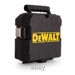 Dewalt Dw088k Auto Nivellement Ligne Ligne Laser Cross Line Kit Genuine Uk Stock