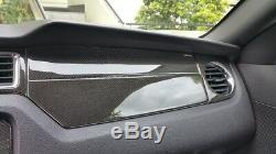 Ensemble De Garniture Intérieure Pour Garniture Intérieure Ford Mustang 05-09 En Fibre De Carbone Véritable