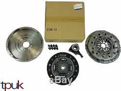 Flywheel Solide, Kit D'embrayage Véritable Luk, Ford Transit Convient Csc 2.4 6 Vitesses Mk7