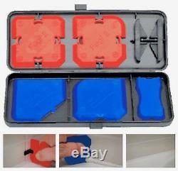 Fugi Véritable 5 Pc Set Rouge Silicone Bleu Carreleurs Calfeutrer Finition Profil Tool Kit