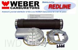 Kit Adaptateur Tuba De Filtre À Air Pour Filtre À Air À Distance Weber Carb 32/36 Dgv Dgev Dgav 38/38 Dgas