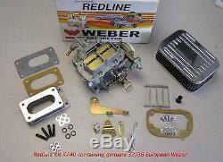 Kit Carbone Pour Toyota Corolla Tercel 2tc 3tc 3a 4a K740 Véritable Weber Européenne