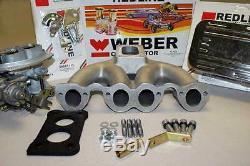 Kit Carburateur Vw Rabbit Scirocco Dasher Weber 8v 1.5, 1.6, 1.7, 1.8 Moteur