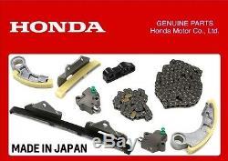 Kit Chaîne De Distribution Honda D'origine + Kit De Chaîne De Pompe À Huile Accord CIVIC Crv 2.2 Ctdi N22a