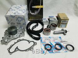 Kit Complet De Pompe À Eau De Joints De Courroie De Distribution Véritable / Oem Pour Toyota Lexus V6 1mzfe