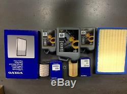 Kit Complet De Services Volvo D5 D'origine Comprenant L'huile V70 / Xc90 / S60 / S80 / Xc60 / Xc70 D5