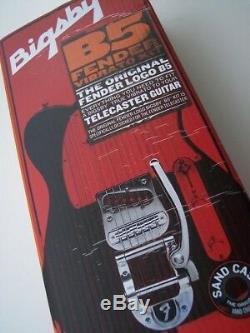 Kit Complet De Télécaster Tele Pour Fender F Logo B5 Bigsby Tremolo Bridge