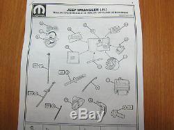 Kit D'installation De Câblage D'attelage De Remorque D'attelage De Remorque Jeep Wrangler Jl 7 Voies 2018, Oem