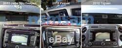 Kit De Caméra De Vision Arrière Jetta / Sportwagen Genuine Vw 2010 2011 2012 2013 Oem Mk6