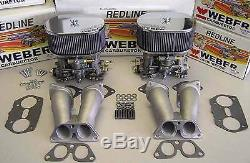 Kit De Conversion De Carburateur Porsche 356 912 Weber 40idf Avec Webers Espagnol Authentique