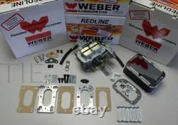 Kit De Conversion De Carburateurs Weber 20r 22r Toyota Pickup Véritable Redline K746 Kit