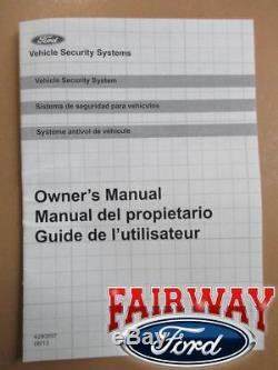 Kit De Démarrage À Distance Et Système De Sécurité D'origine Ford Pièces D'origine 15 À 17 F-150 Nouveau