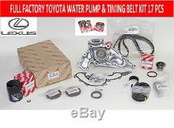 Kit De Distribution 17 Pcs Complet Pour Pompe À Eau Lexus Lx470 98 Thru 04