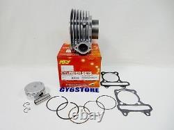 Kit De Mise À Niveau Du Cylindre Ncy (aluminium, 61mm, 171cc) Pour Moteurs Authentiques / Gy6