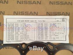 Kit De Réparation De Joint De Moteur Complet Pour Nissan Skyline R34 Rb25det Neo Gt-t