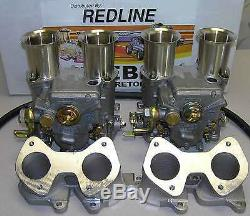 Kit Double Carburateur Vw Dual 45 Dcoe Weber Pour Moteurs 16v Golf Jetta Scricco