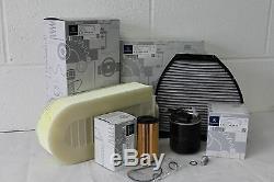 Kit Entretien Filtre D'origine Mercedes-benz W212 Classe E E200 220 250 Diesel Om651