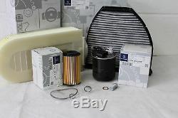 Kit Entretien Filtre Mercedes-benz W204 Classe C C200 220 250 Diesel Om651 D'origine