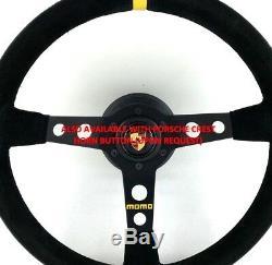 Kit Volant Et Bossage D'origine Momo Pour Porsche 911 996 Gt3 Cup 986 Boxster
