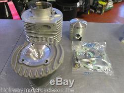 Lambretta Casa 185 Kit Piston Barrel Tête Anneaux Joint Qualité Véritable