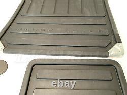 Land Rover Range Rover 07 -10 Genuine Rubber Floor Mat Set Kit Eah500330pma Nouveau