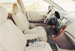 Lexus Rx300 Cuir Véritable Intérieur Kit / Housses De Siège