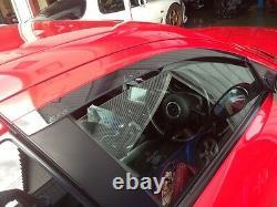 Mazda Rx8 Rx-8 Oem Genuine Front Side Door Window Rain Guard Smoked Visors Kit