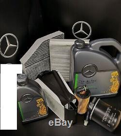Mercedes C Kit De Service De Classe C220cdi W205 651 Diesel Des Pièces D'origine, Tous Les Filtres