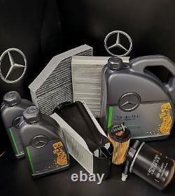 Mercedes Classe E Kit De Service E220cdi 213 651 Diesel Pièces Authentiques, Tous Les Filtres