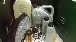 Mercedes Service Kit Véritable C250 CDI Modèles W204 651 Diesel, Tous Les Filtres Inc