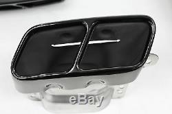 Mercedes-benz Amg Noir Véritable A45 Conseils D'échappement De Performance A-class W176 Nouveau
