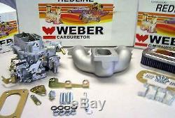 Mg Midget Austin Healey Sprite 1958-1974 - Kit De Conversion Weber Avec Collecteur - Véritable