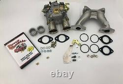 Mga Mgb 45 Dcoe Carburetor Conversion Genuine Weber 45 Dcoe 9 K042 Kit Withdvd