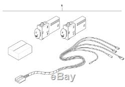 Mini Sièges Avant Chauffants D'origine Installation Kit Pour R50 R52 R53 61110145996